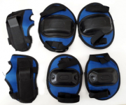 Kit De Proteção Bel Sports Infantil Azul