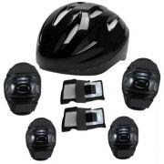 Kit Super Proteção Bel Sports - Preto