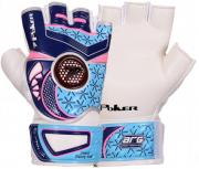 Luva De Goleiro Poker Futsal Deep 6 Training  - Azul/Pink