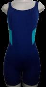 Macaquinho de Natação/Hidroginástica Necks Adulto - Marinho/Azul