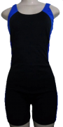 Macaquinho de Natação/Hidroginástica Necks Adulto - Preto/Azul