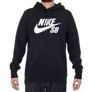 Moletom Nike Sb Icon Hoodie Masculino - Preto