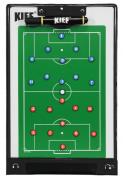 Prancheta Tática Magnética Kief Futebol De Campo Com Caneta