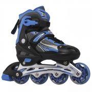 Roller Hyper Sports Regulável 72mm - Azul - 34 ao 37