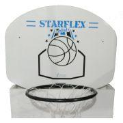 Tabela Basquete Starflex 15 mm - Branco e Azul