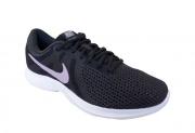 Tênis Nike Revolution 4 Feminino - Preto/Lilás