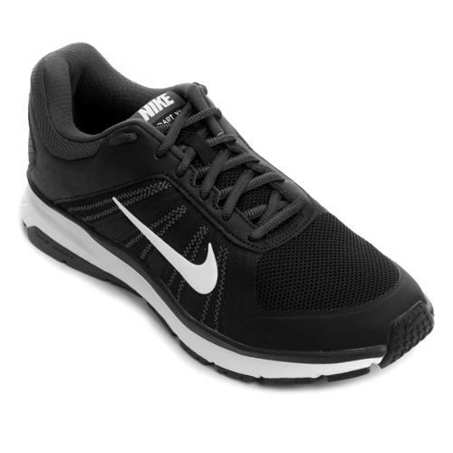 Tênis Nike Dart 12 Msl - Masculino - Preto e Branco