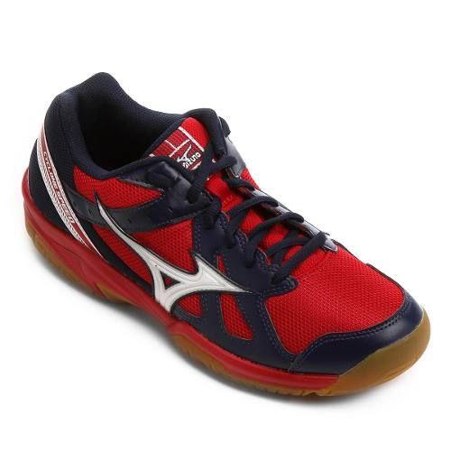 Tênis Mizuno Cyclone Speed Indoor Unissex - Vermelho