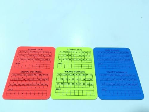 Cartão De Árbitro Futsal Oficial Poker - Ref: 08058