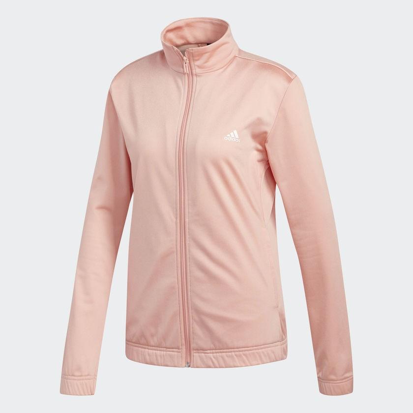 Agasalho Adidas Essentials Feminino - Rosa/Preto