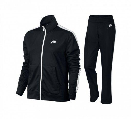 Agasalho Nike Track Suite Feminino - Preto