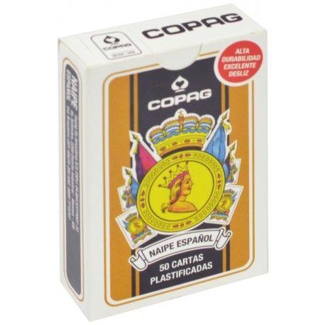 Baralho Copag Naipe Español - Preto