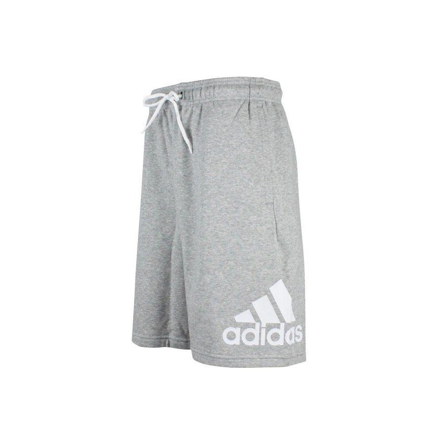 Bermuda Moletom Adidas BosshortFT Masculina - Mescla