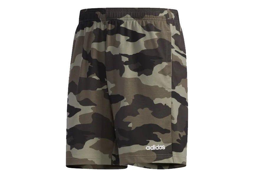 Bermuda Adidas M Fac Aop Short Masculina - Camuflada