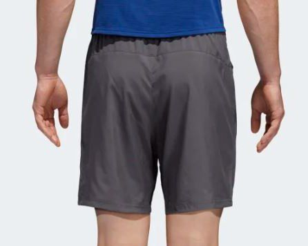 Bermuda Adidas Run It Short Masculina - Grafite