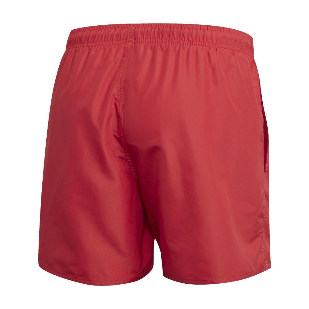 Bermuda Natação Adidas Solid Masculina - Vermelha