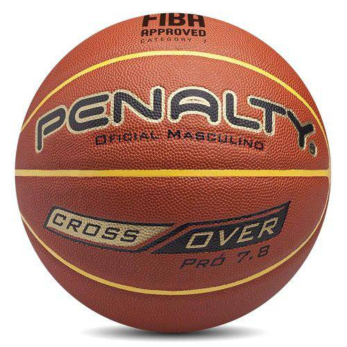 Bola Penalty Basquete Cross Over 7.8 - Marrom