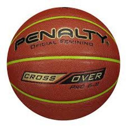 Bola Basquete Penalty  Pró 6.8 Crossover - Feminino - Marron e Verde