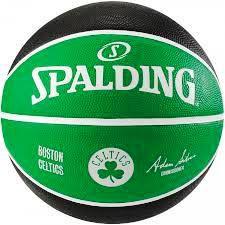 Bola Spalding Basquete NBA Boston Celtics - Verde/Preto