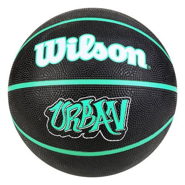 Bola Basquete Wilson Urban - Preto/Verde
