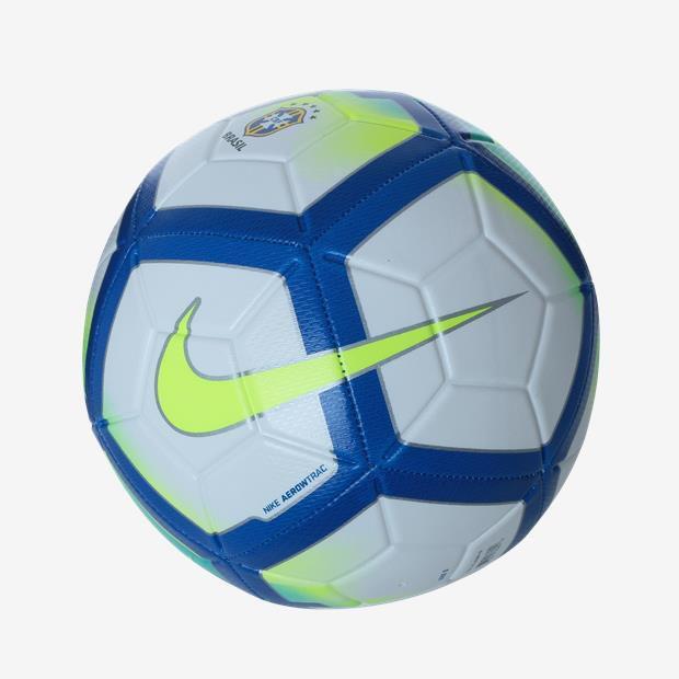 f6faeae8d4 Bola Campo Nike CBF Striker - Branca Azul Amarelo - Joinville ...