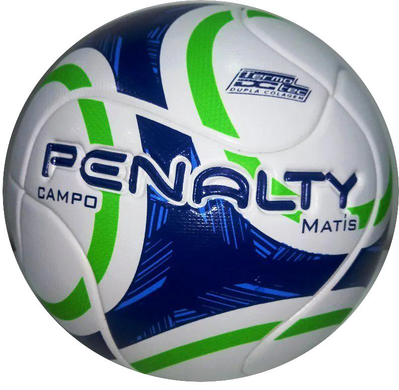 Bola Campo Penalty Matís IX - Branco/Verde