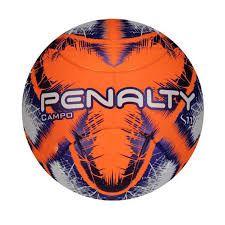 Bola Campo Penalty S11 R3 IX Oficial - Laranja/Roxo