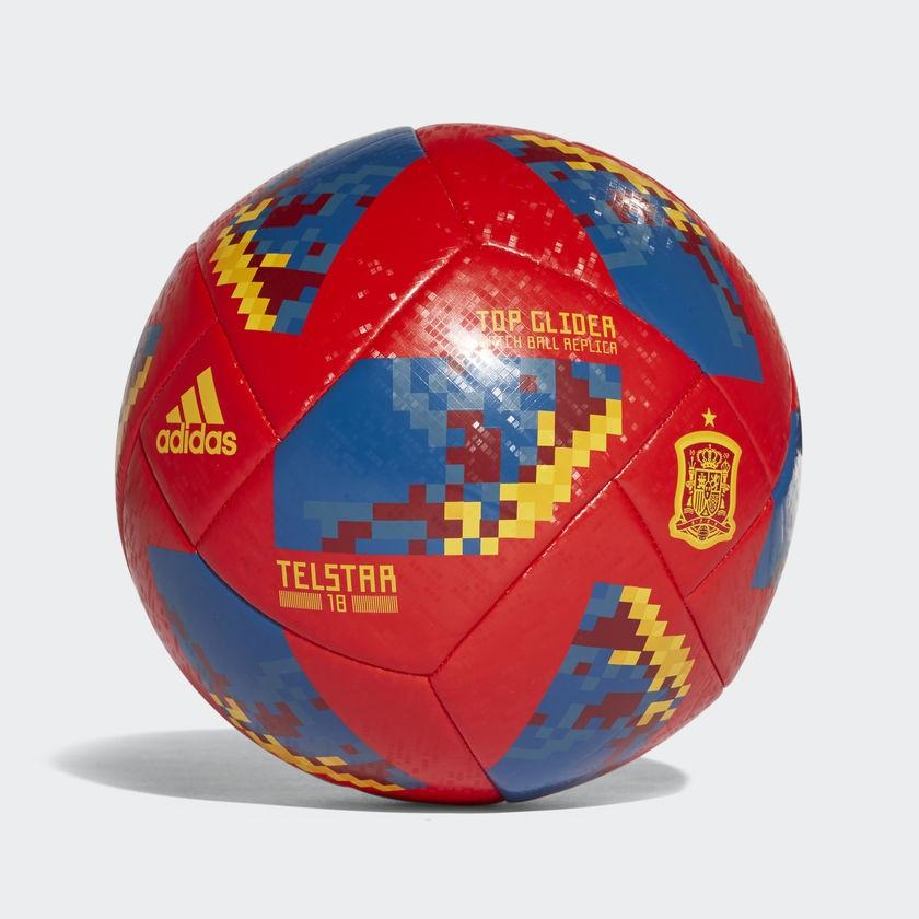 Bola Campo Adidas Copa Do Mundo Telstar 18 Top Glider Espanha ... 7ca07979233f3