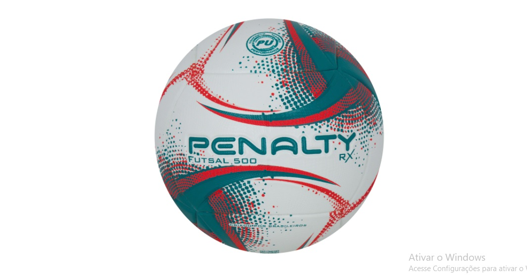 Bola de Futsal Penalty RX 500 XXI - Bc/Vd/Vm