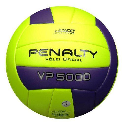 Bola Vôlei Penalty VP 5000 - Amarelo e Roxo