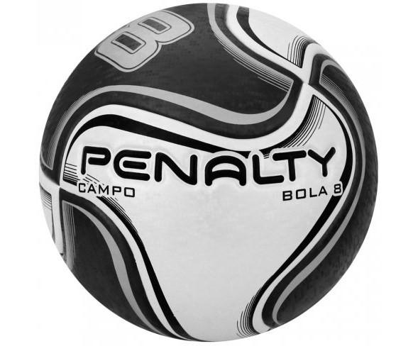 Bola Futebol De Campo Penalty 8 X - Preto