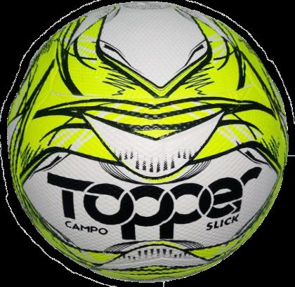 Bola Futebol De Campo Topper Slick 2020 - Amarelo/Preto