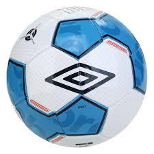 Bola Futebol  Campo Umbro Pivot Supporter - Branco e Azul