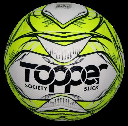 Bola Futebol Society Topper Slick 2020 - Amarelo/Preto