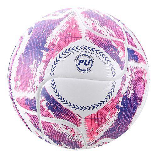 Bola Futsal Penalty Max 200 Termotec IX - Branco e Rosa