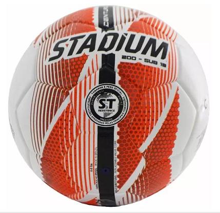 Bola Futsal Stadium 200 Centurion Sub-13 - Infantil - Unissex - Branco/ Lrj