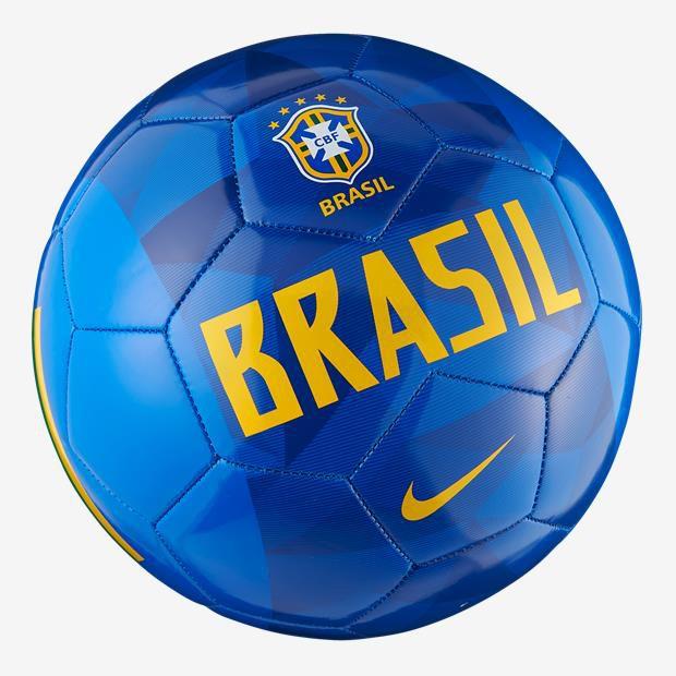Bola Nike Campo Brasil CBF - Azul/Amarelo