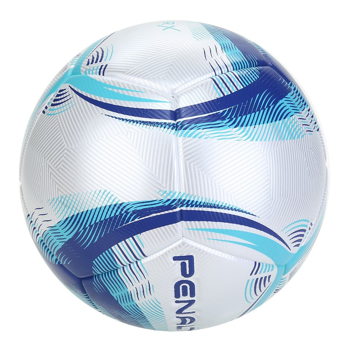 Bola Penalty Campo RX IX - Branco e Azul