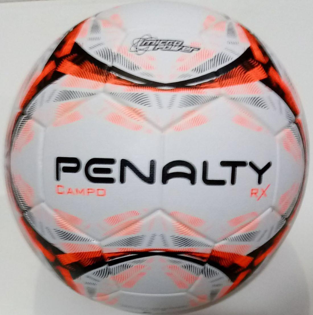 Bola Penalty Campo RX R1 IX - Branco e Laranja