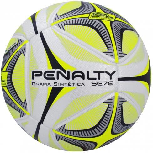 Bola Penalty Society Se7e Pro KO X - Branco e Amarelo