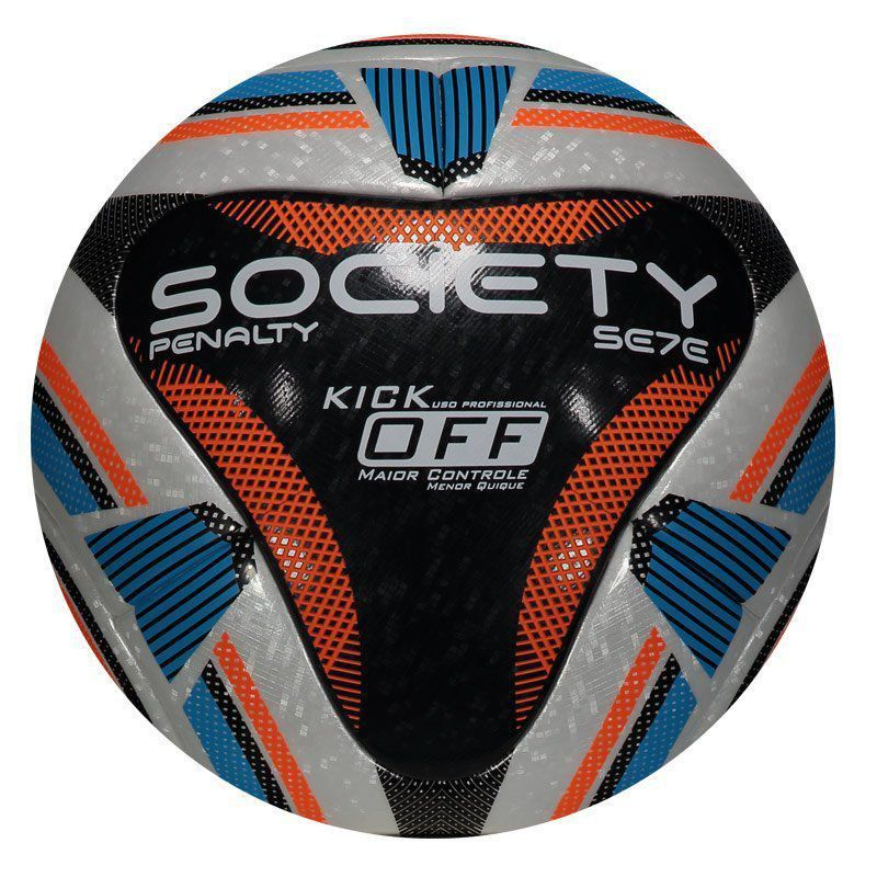 Bola Society Penalty Se7e R1 Kick Off - Preto
