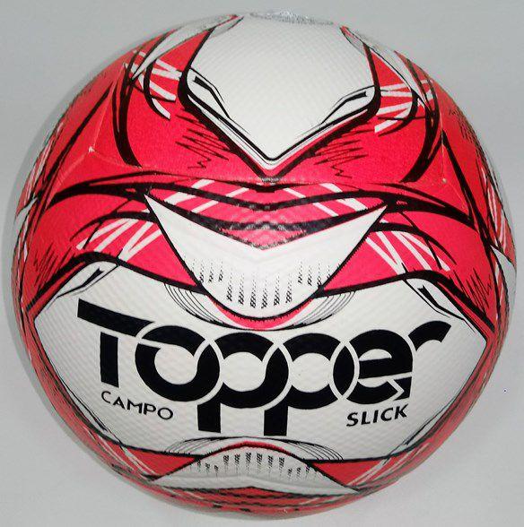 Bola Futebol De Campo Topper Slick 2020 - Rosa/Preto