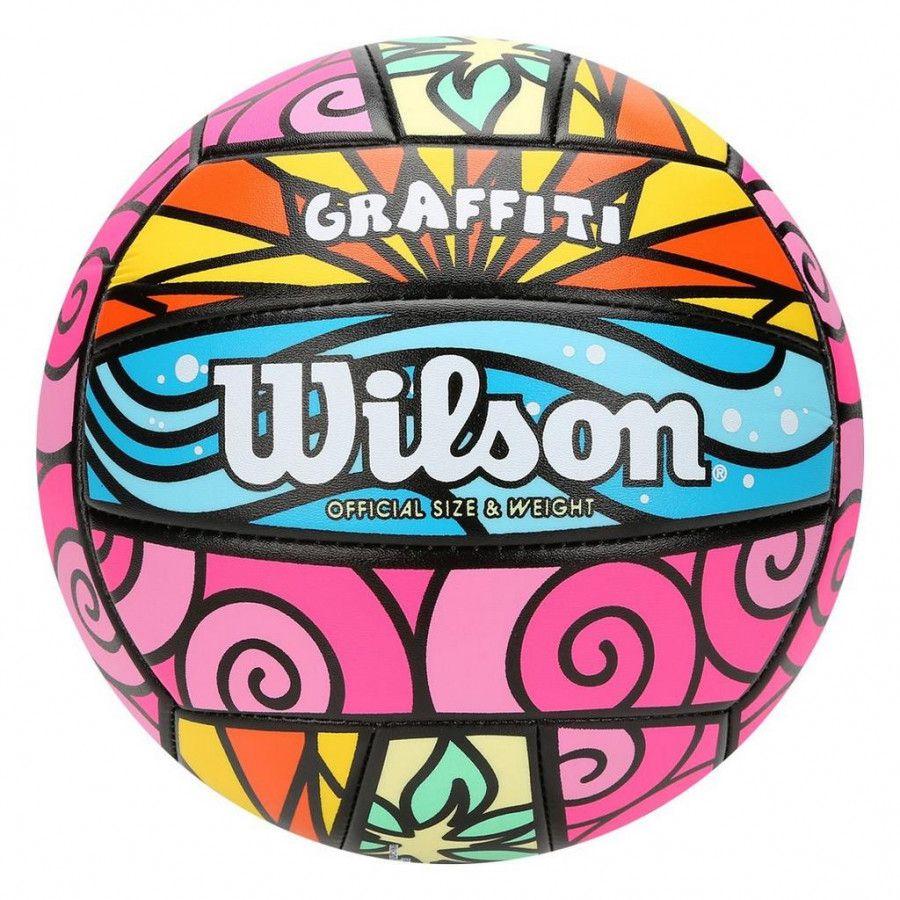 Bola Vôlei Wilson Graffiti - Multicores