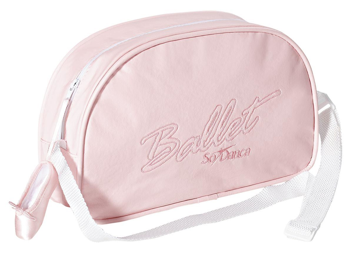 Bolsa Ballet Só Dança - Rosa Claro