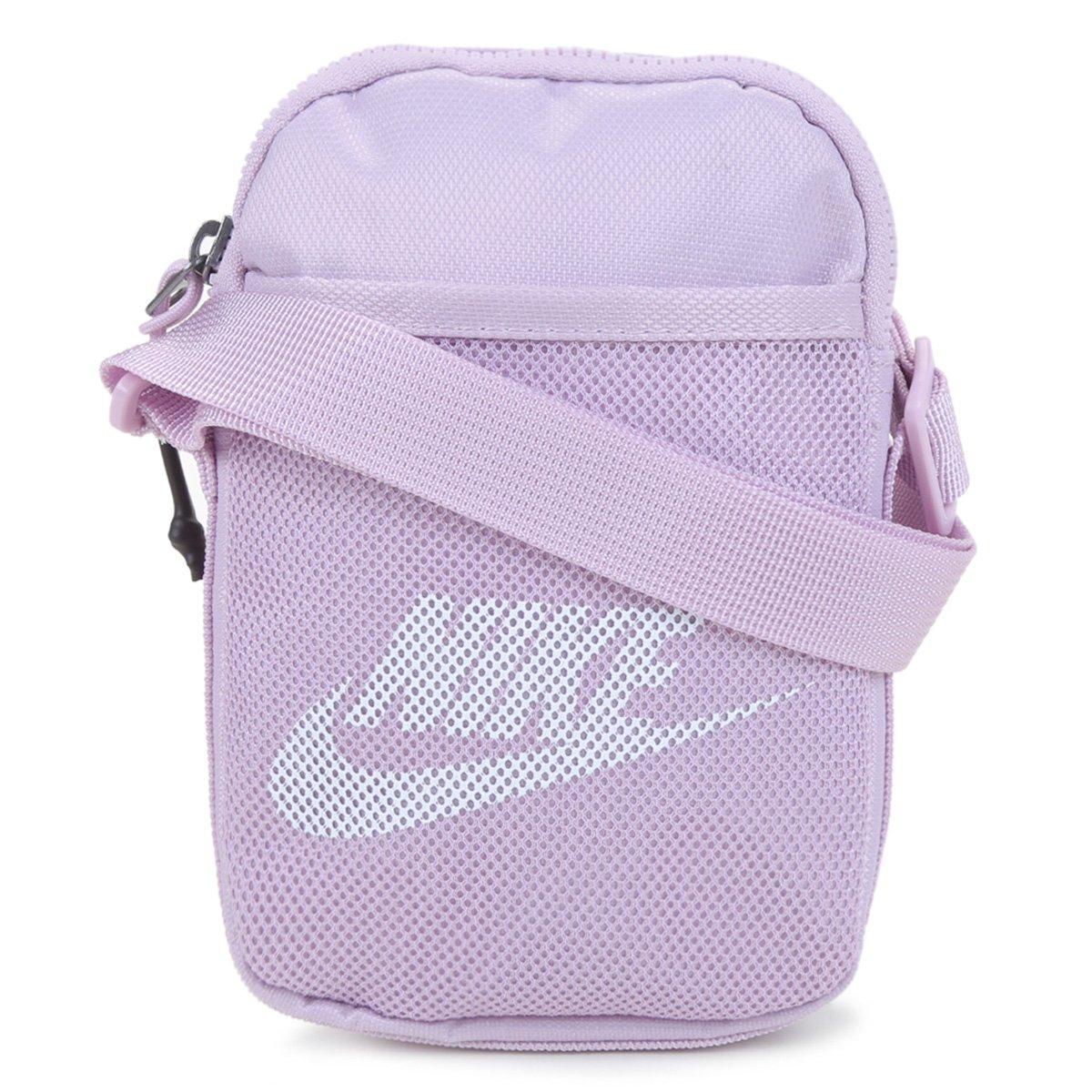 Bolsa Nike Bag Heritage S Smit 1L - Lilás