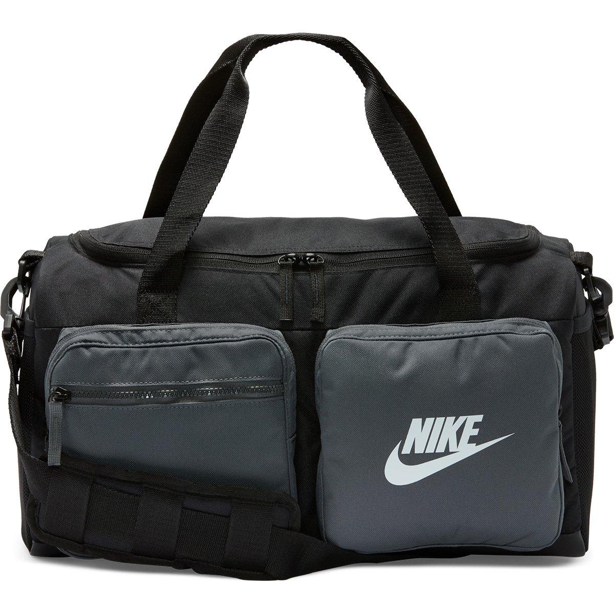 Bolsa Nike Future Pro Duff 30L - Preto e Grafite