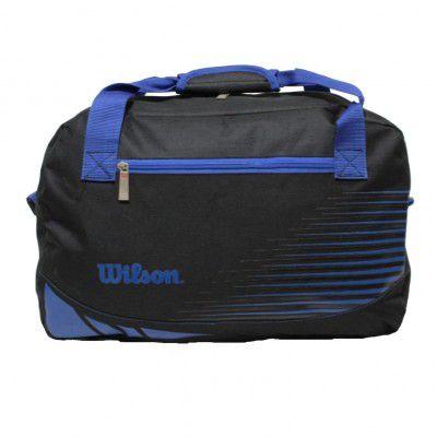 Bolsa Wilson Esportiva Para Treino - Preta/Azul