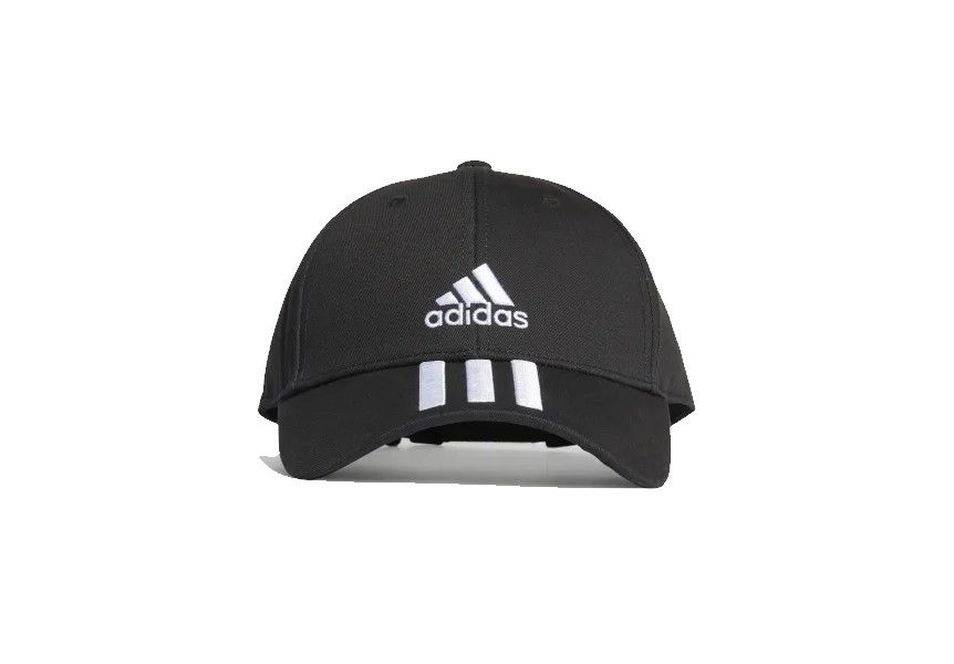Boné Adidas Baseball 3 Stripes - Preto