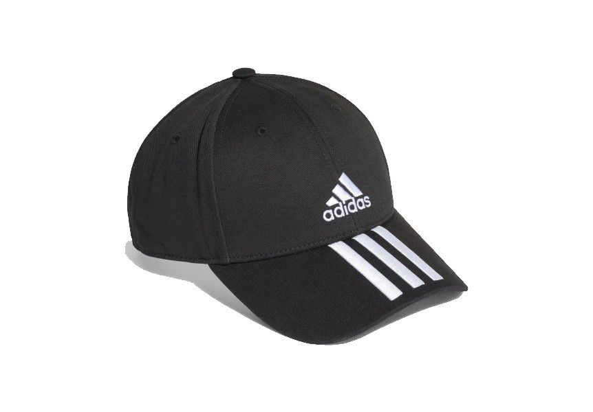 Boné Adidas Baseball 3 Stripes - Preto