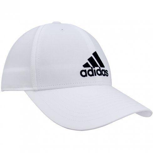 Boné Adidas 6 Painéis Cap Cotton - Branco